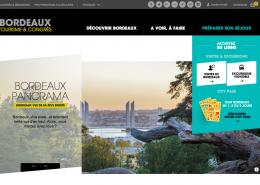 Nouveau site internet de Bordeaux tourisme